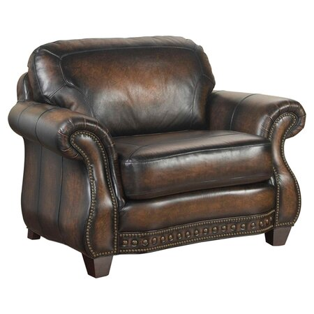 Stetson Leather Arm Chair