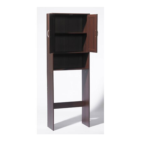 Louvre Space Saver Cabinet in Espresso