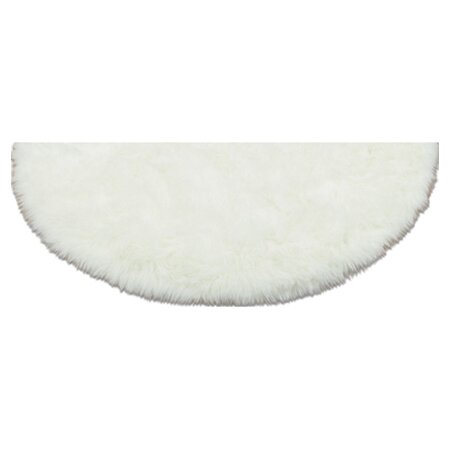 Faux Polar Bear Rug