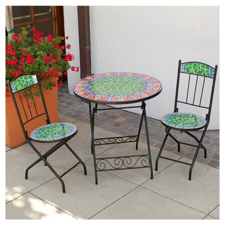 piece mexicana outdoor bistro set