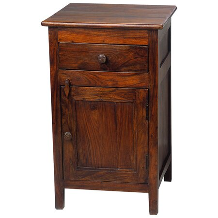 Nightstands joss and main for Tall rustic nightstands
