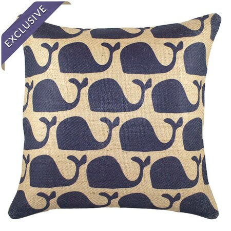 Wandering Whales Pillow
