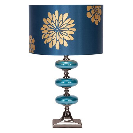 Dalia Table Lamp II in Blue (Set of 2)