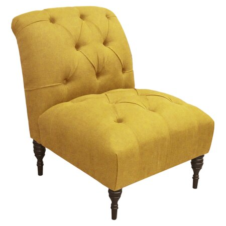 Skyline furniture audra accent chair in french yellow jpg