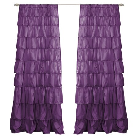 Bianca Curtain in Purple