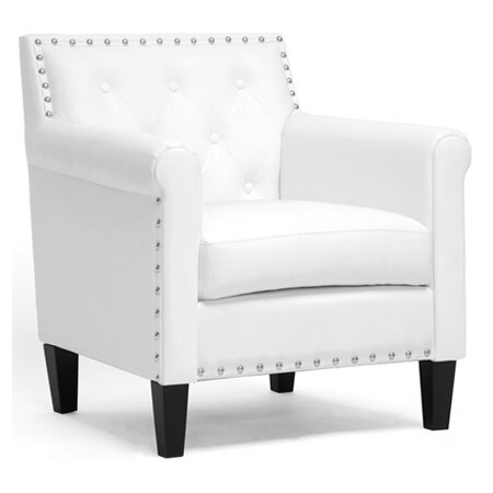 Mina Arm Chair in White