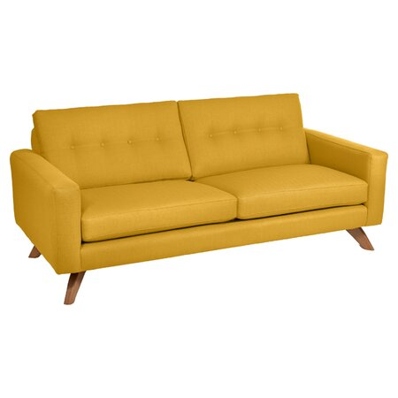 Luna Sofa in Mustard