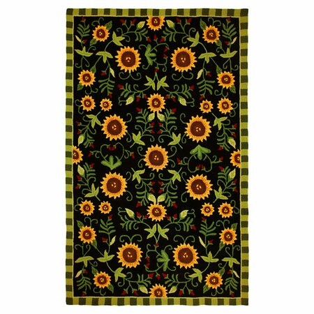Sunflower Garden Rug - Fall Sunroom on Joss & Main