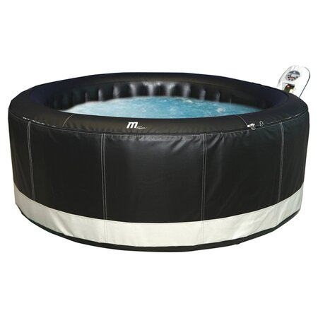 Camaro 6 Person Inflatable Spa in Black