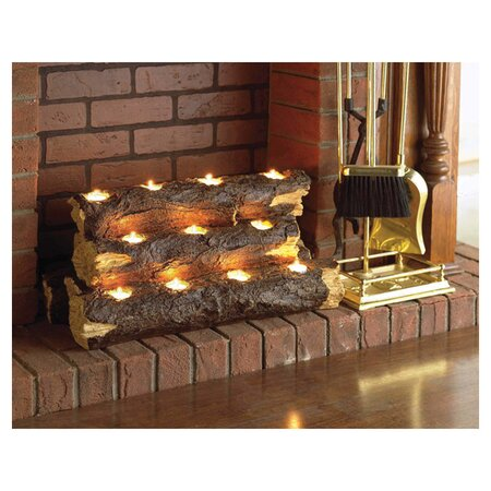 Kirkley Tealight Fire Log in Natural