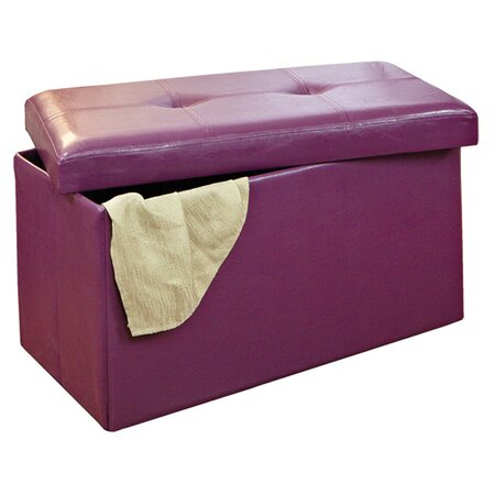 Benches joss and main Purple storage bench