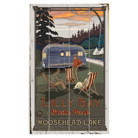 Camping Moosehead Lake Wall Decor - Outdoor Enthusiast on Wayfair