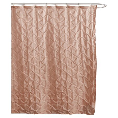claribel shower curtain in peach the powder room on joss
