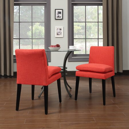 Oslo Side Chair in Sunrise Red (Set of 2)