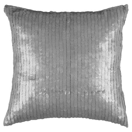 Jenna Pillow in Silver