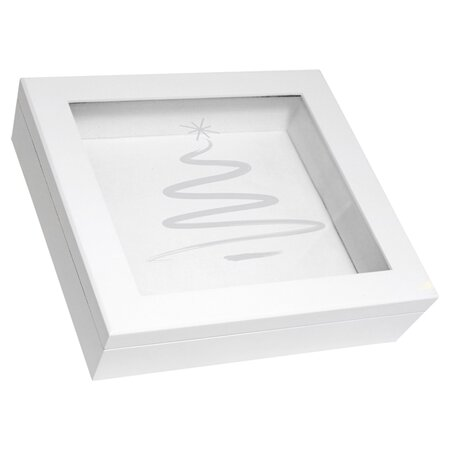 Greensleeves Keepsake Box in White