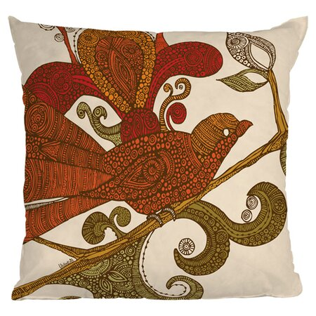 The Orange Bird Throw Pillow - DENY Designs on Joss & Main