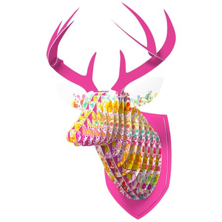 DENY Designs Bubble Garden Faux Deer Mount