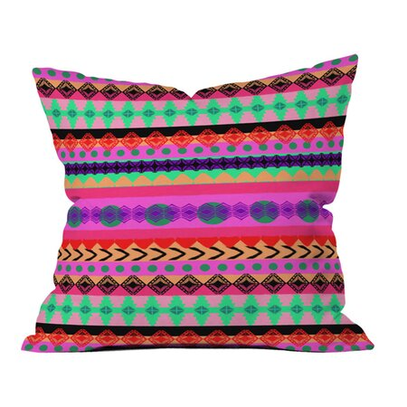 Amy Sia Tribal Stripe Throw Pillow