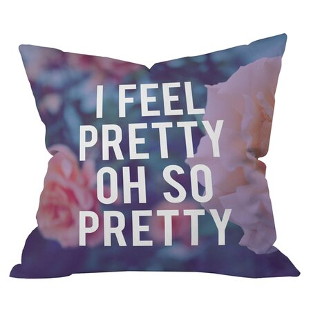 I feel pretty cushion