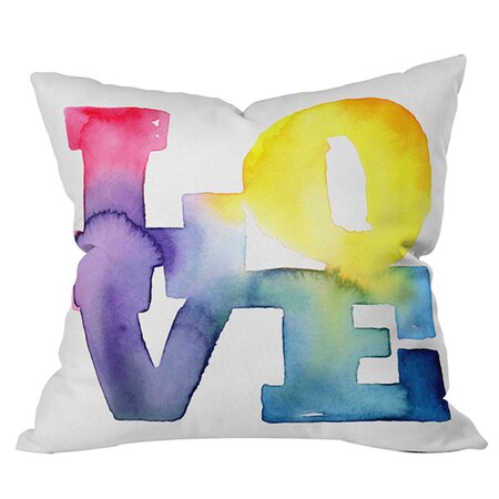 CMYKaren Love 4 Pillow