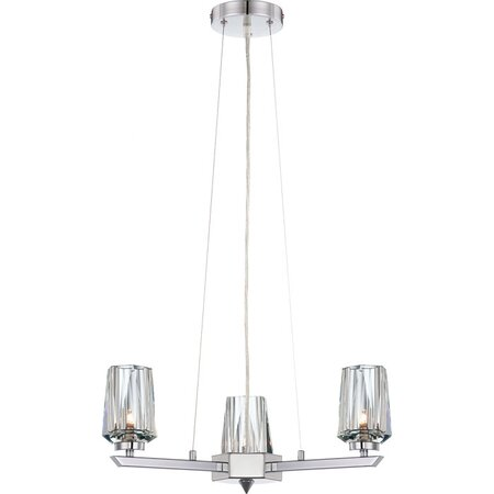 Ginsu 3-Light Chandelier