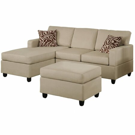 Sectionals joss and main for Bobkona 3 piece sectional sofa set