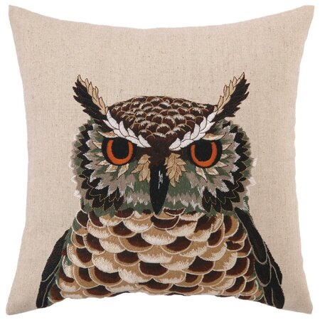 Hermes Owl Pillow