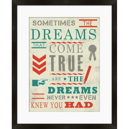 Sometimes The Dreams Wall Art - Word for Word on Joss & Main