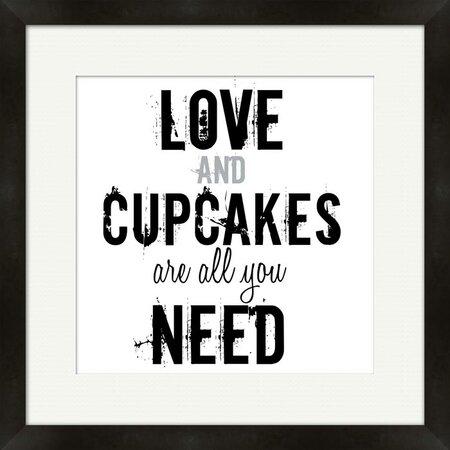 Love Cupcakes Wall Art - Word for Word on Joss & Main