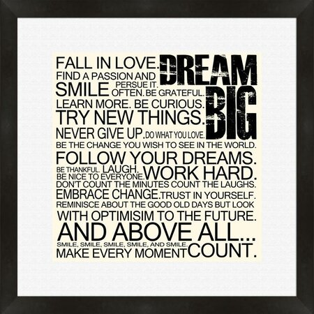 Dream Big Wall Art - Word for Word on Joss & Main