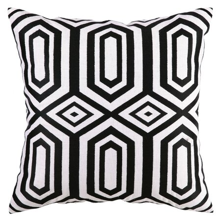 Jennifer Paganelli Hotel SoHo Pillow in Black