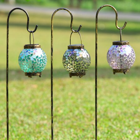 3 Piece Mystique Garden Lantern Set