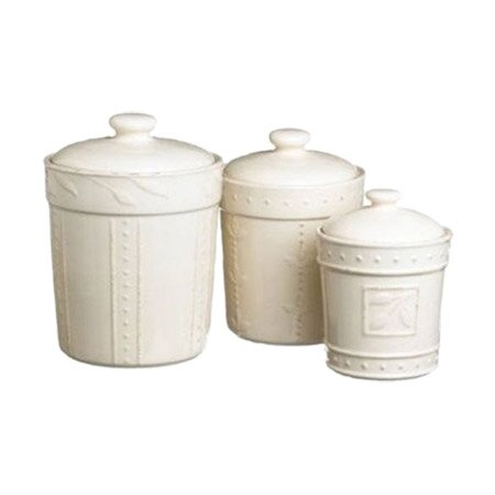 4 Piece Sorrento Canister Set