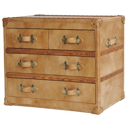 Lamoine Leather Chest