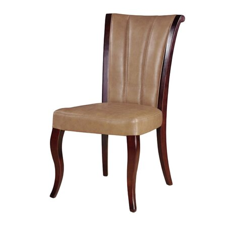 Palace Leather Dining Chair (Set of 2)