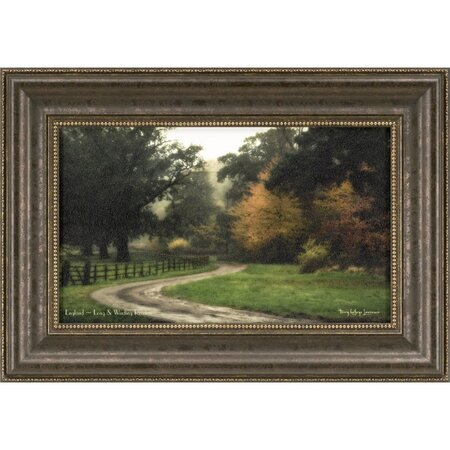 Long & Winding Road Framed Print
