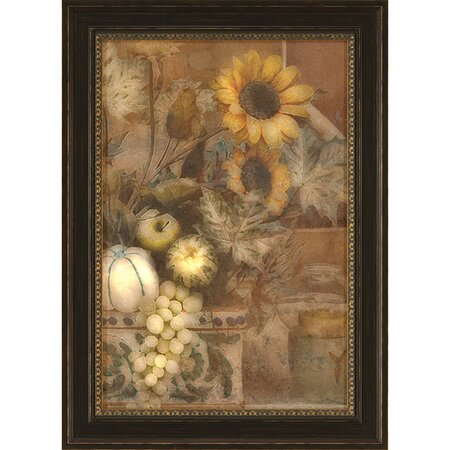 French Sunflower VI Framed Print