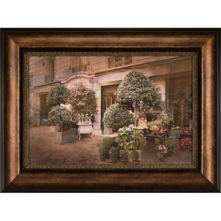 Paris Florist Shop I Framed Print