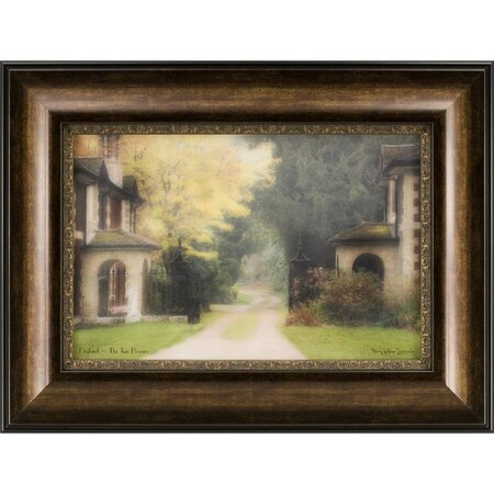 The Two Houses Framed Print