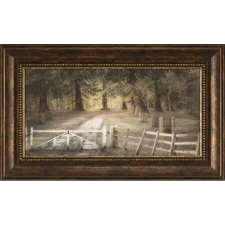 The England Forest Framed Print