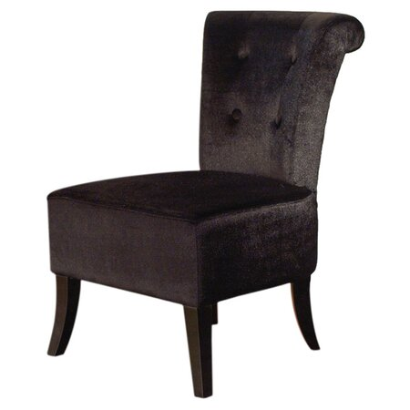 Anna Accent Chair in Black