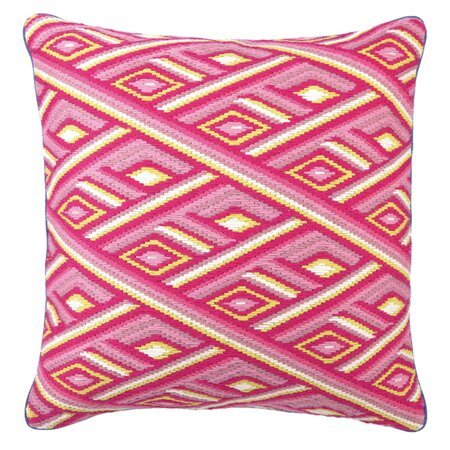 Jennifer Paganelli Marcella Pillow in Pink