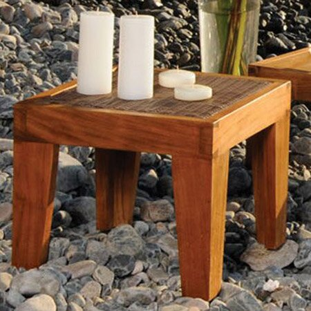 Leeward Islands Teak Outdoor End Table