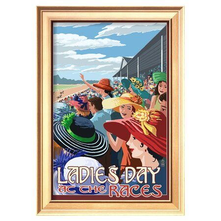 Framed Ladies Day Print - Art.com