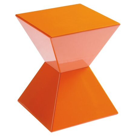Rocco End Table in Orange