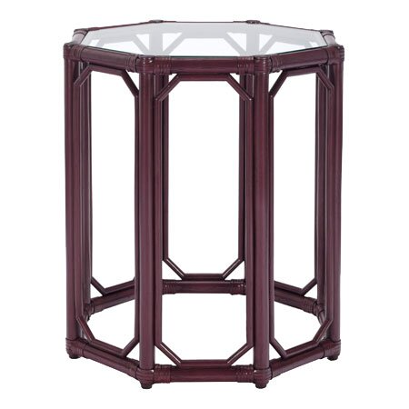 Regent End Table in Plum
