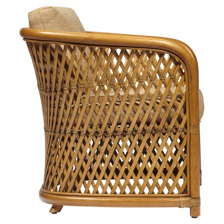 Greta Tub Chair in Nutmeg