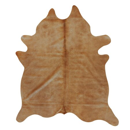 Geneva Cowhide Rug in Tan