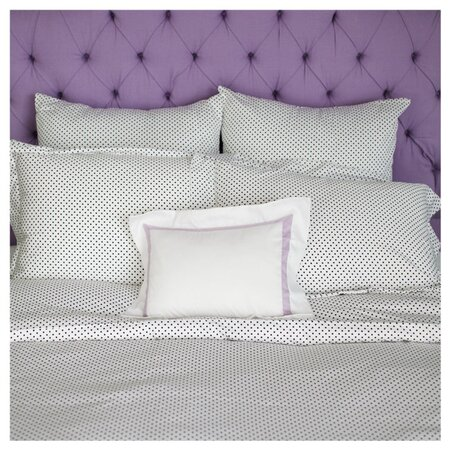 Katie Duvet in Black & White by Biscuit Home